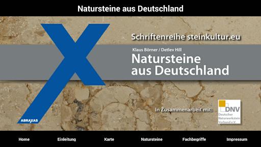 Natursteine aus Deutschland