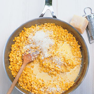 Creamed Corn with Parmesan.