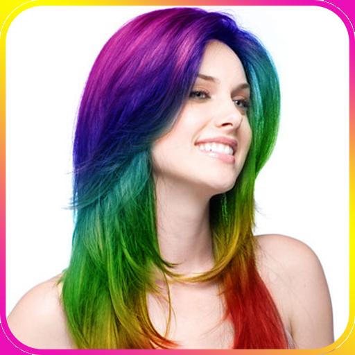 改變頭髮顏色 攝影 App LOGO-APP開箱王