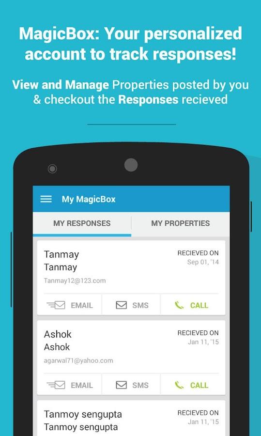 MagicBricks Property Search - screenshot