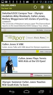 Cullen Jones: The Root 100 - screenshot thumbnail