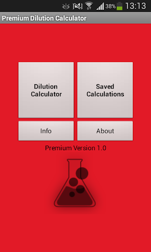 Dilution Calculator Premium