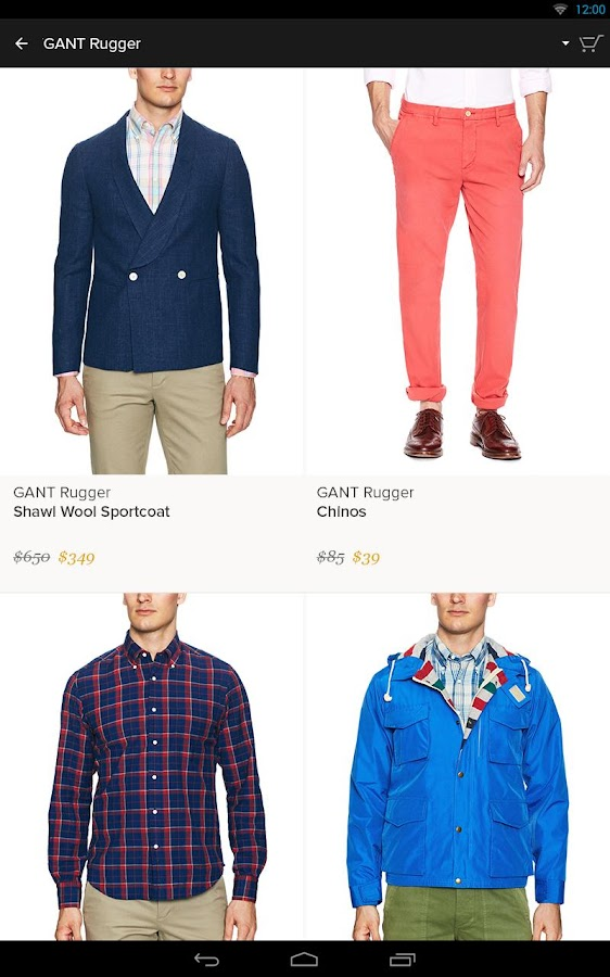 Gilt - Shop Designer Sales- screenshot