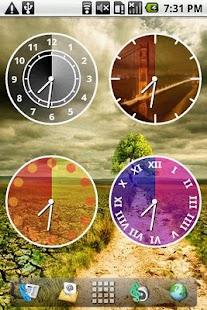Androidlet Clock Widget- screenshot thumbnail