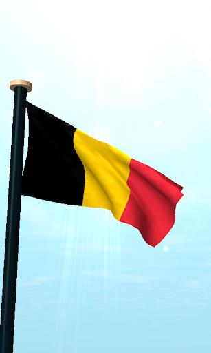 免費下載個人化APP 比利時旗3D動態桌布 app開箱文 APP開箱王