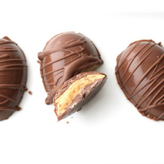 Homemade Peanut Butter Cup Eggs