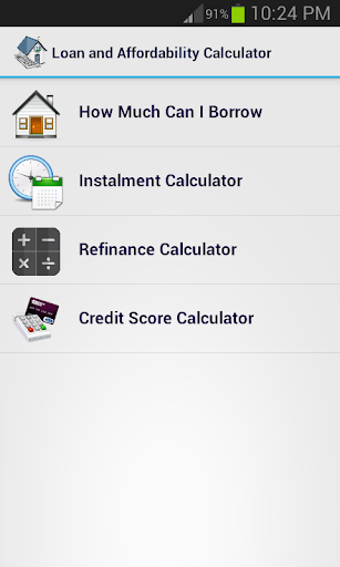 Loan and refinance Calculator