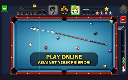 8 Ball Pool MOD 3.13.6 (Extended Stick Guideline) Apk 1