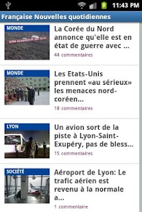 French News Daily Live - screenshot thumbnail