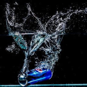 Pepsi  by Uzair RIaz - Abstract Water Drops & Splashes (  )