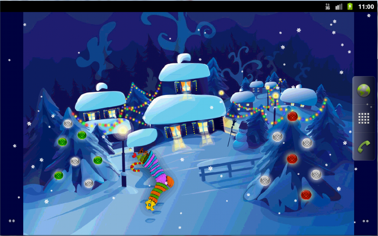 sweet christmas live wallpaper android apps on google play