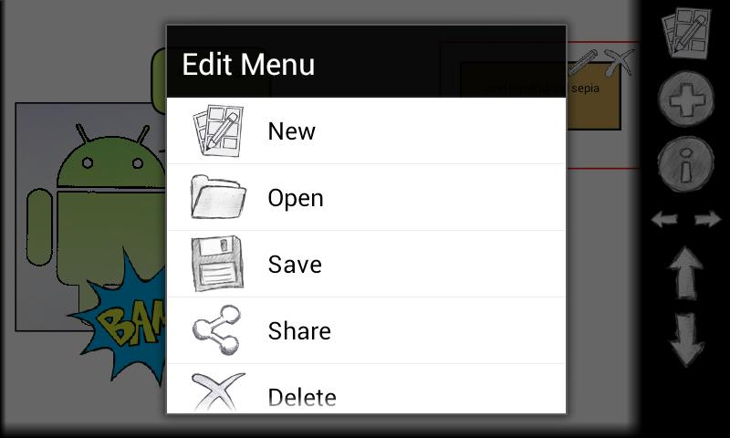 Comic Editor Lite - screenshot