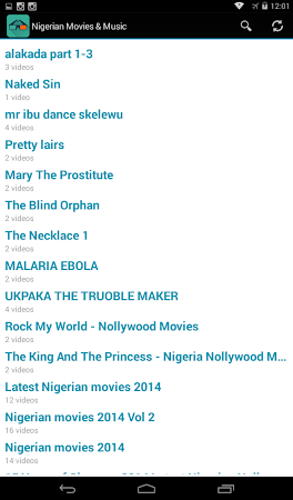 Nigerian Movies & Music 2014 2 screenshot 1712952