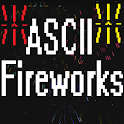ASCII Fireworks Live Wallpaper icon