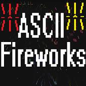 ASCII Fireworks Live Wallpaper
