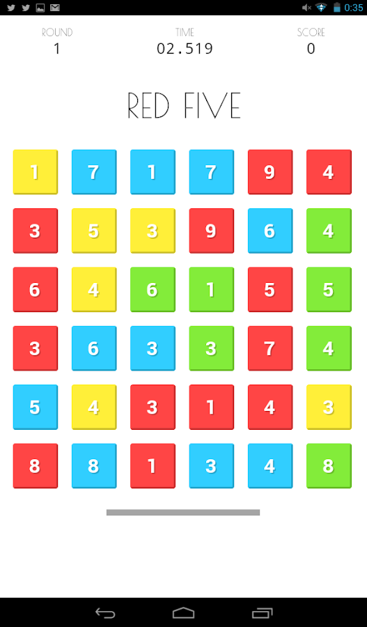 NumCol Free Numbers & Colours- screenshot