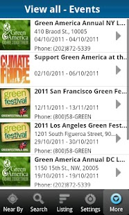National Green Pages - screenshot thumbnail