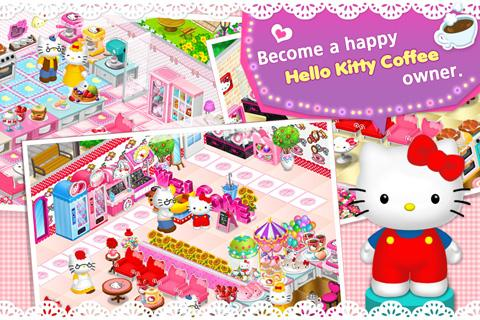 Hello Kitty Coffee - screenshot