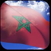 3D Morocco Flag +