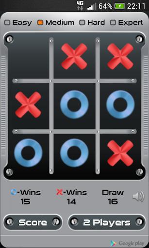 Tic Tac Toe - Крестики-нолики для планшетов на Android
