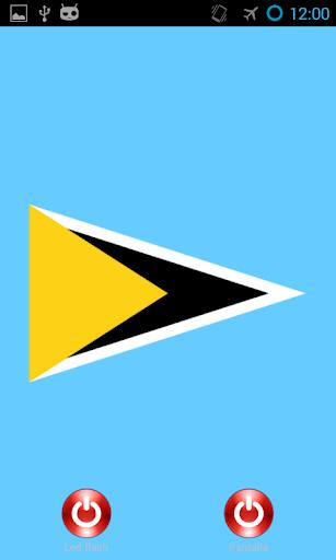 Lantern flash Saint Lucia