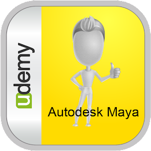 Learn Autodesk Maya - Udemy Icon
