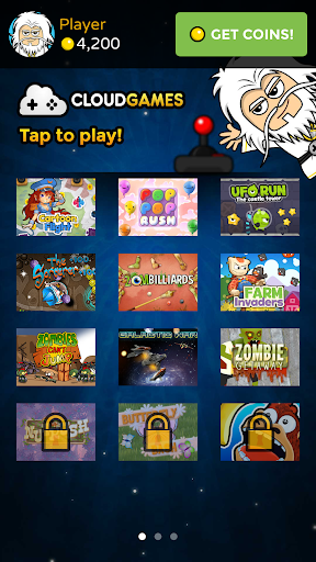 Cloud Games - 1 app many games