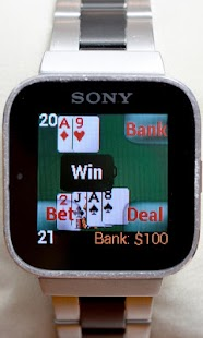 Blackjack for SmartWatch- screenshot thumbnail