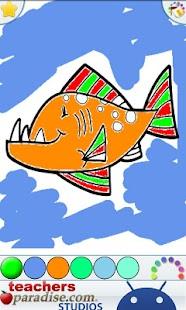 Ocean Animals Coloring Book- screenshot thumbnail