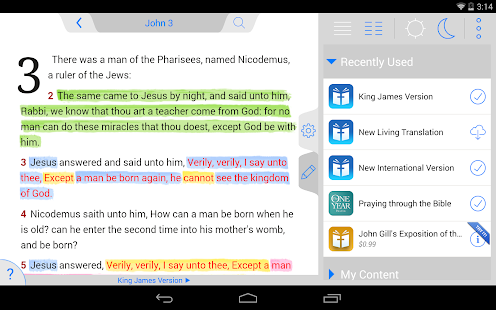 Holy Bible KJV (Offline)- screenshot thumbnail