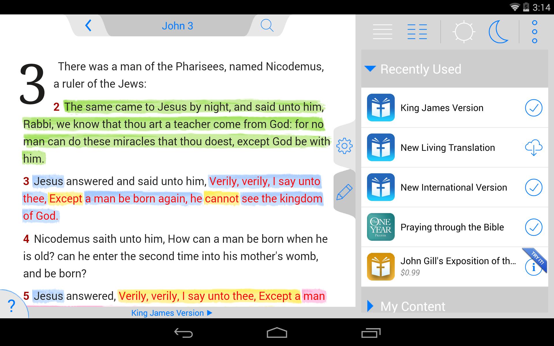 The Holy Bible - King James screenshot #18