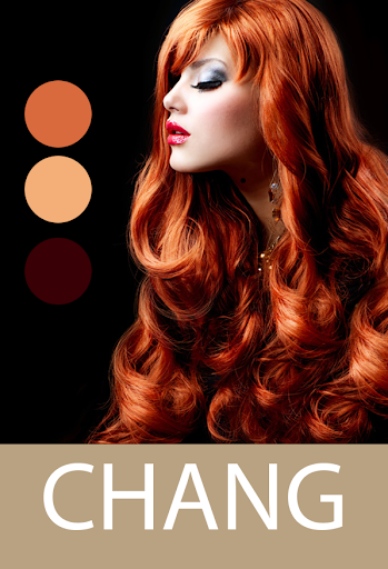 changing hair colour in photo
