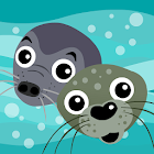 Gry and Vitus - Seals at play icon