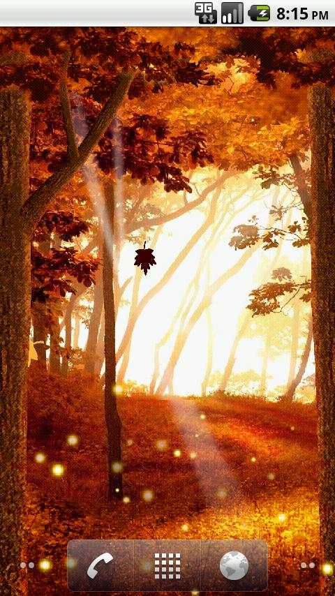 Autumn Leaves Live Wallpaper - screenshot
