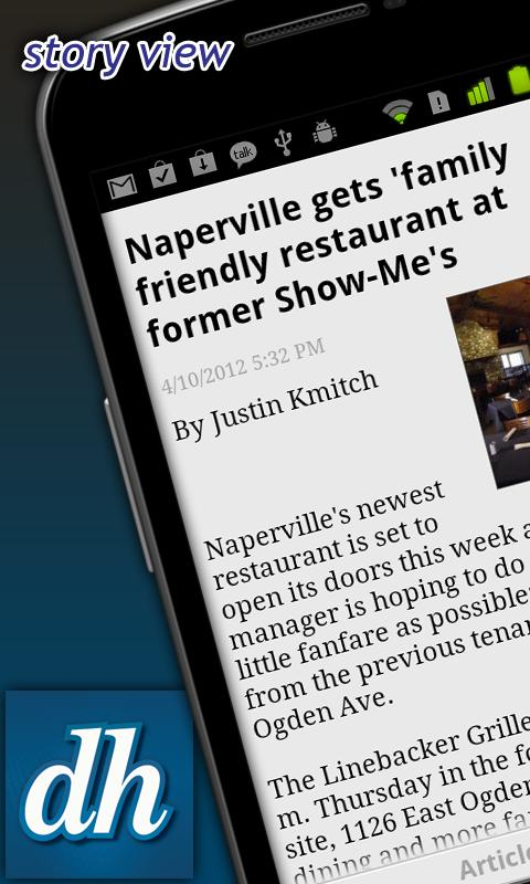 Daily Herald LITE - screenshot