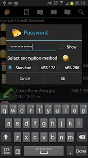 AndroZip™ File Manager - screenshot thumbnail