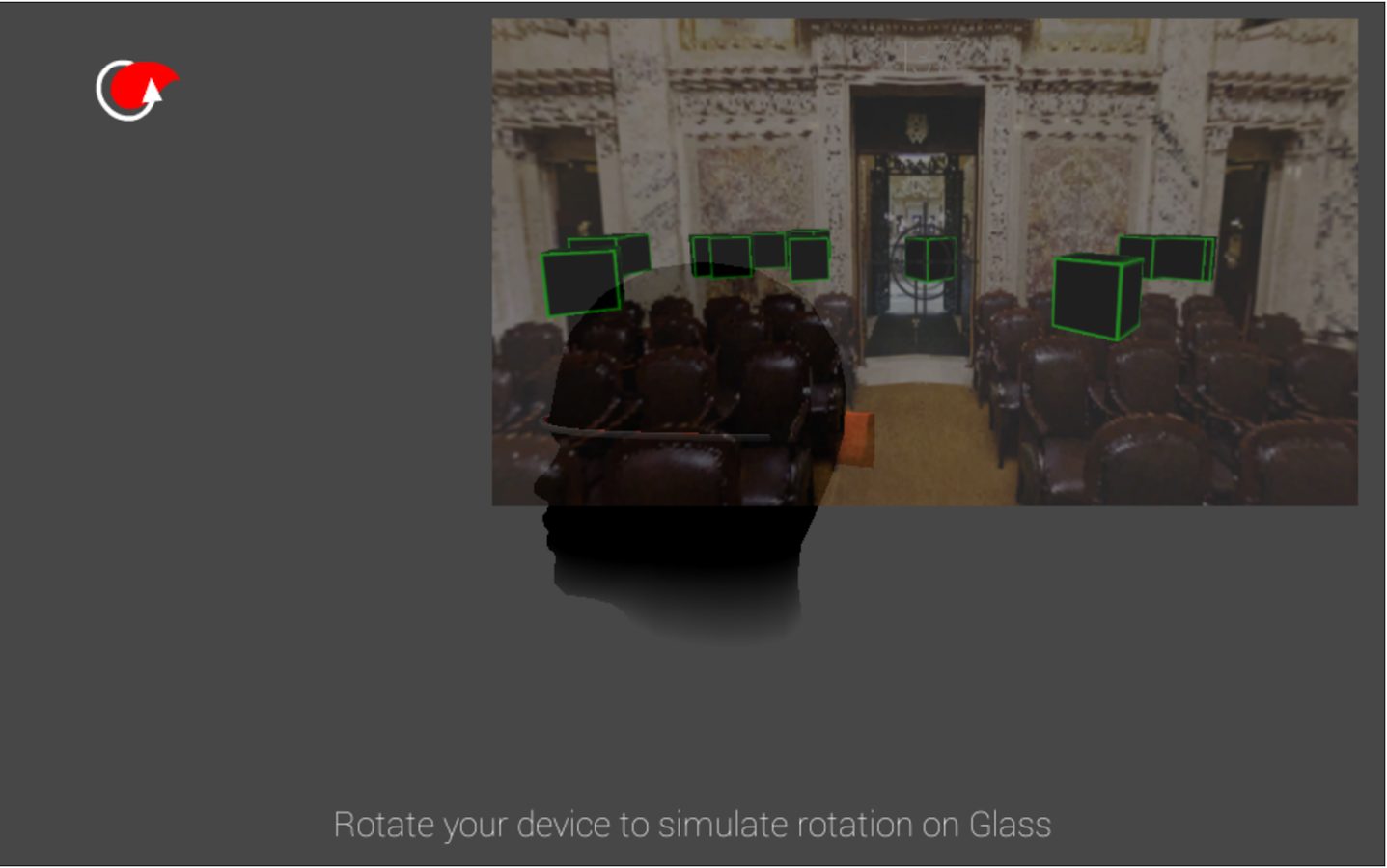 gyroFIRE TryOut - Google Glass- screenshot