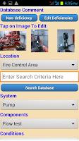 Screenshot of Fire Sprinkler Inspections