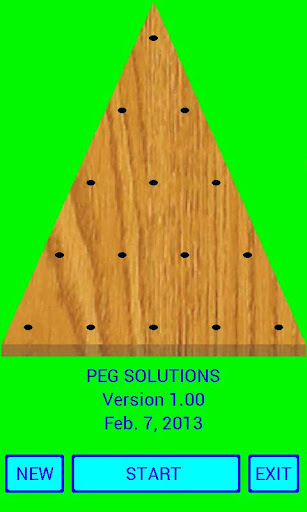 Peg Solutions