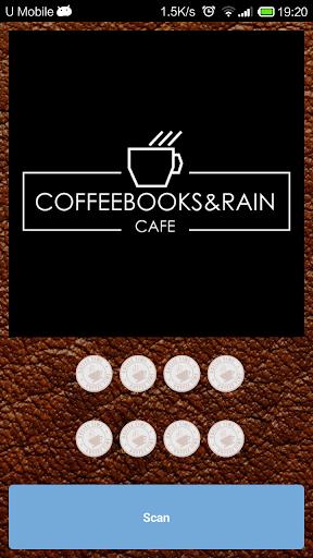 Coffee Books Rain Cafe