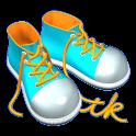 歩数報告 Istktk logo