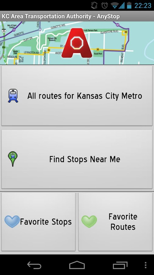 Kansas City Metro: AnyStop - screenshot