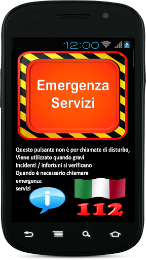 Emergency Services italy