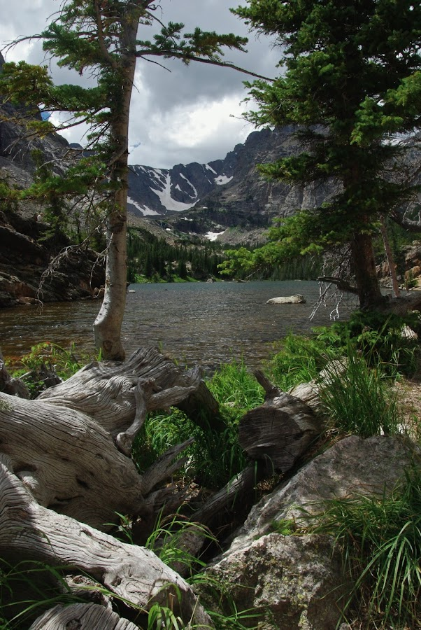 The Loch by Jeff Dugan - Landscapes Mountains & Hills ( mountain, nature, forest, rockies, lake )