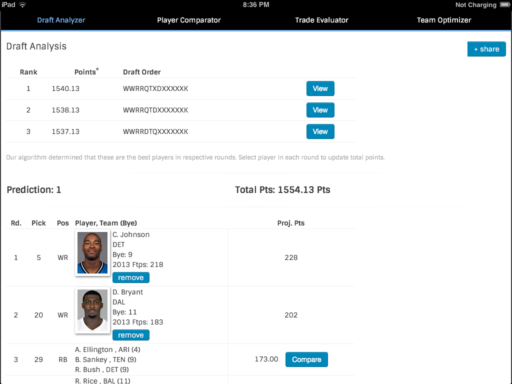 Fantasy Football - screenshot