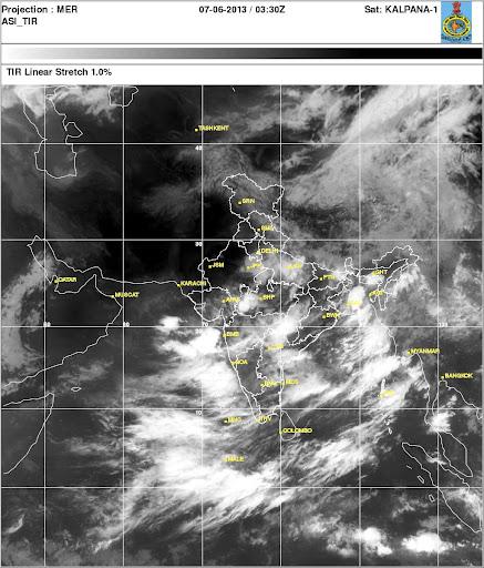 India Weather Setellite Images