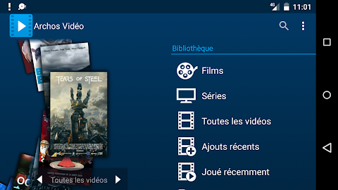 Archos Video Player Screenshot 1