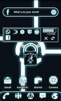 Screenshot of GOWidget Theme - Glow Legacy