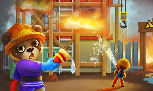 Superhero Bear - Fire Rescue
