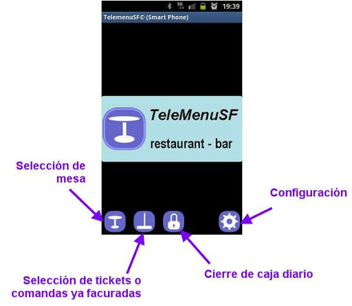 TeleMenuSP. Retaurant bar